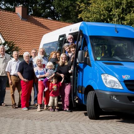 Erster Bürgerbus in Badbergen eingetroffen