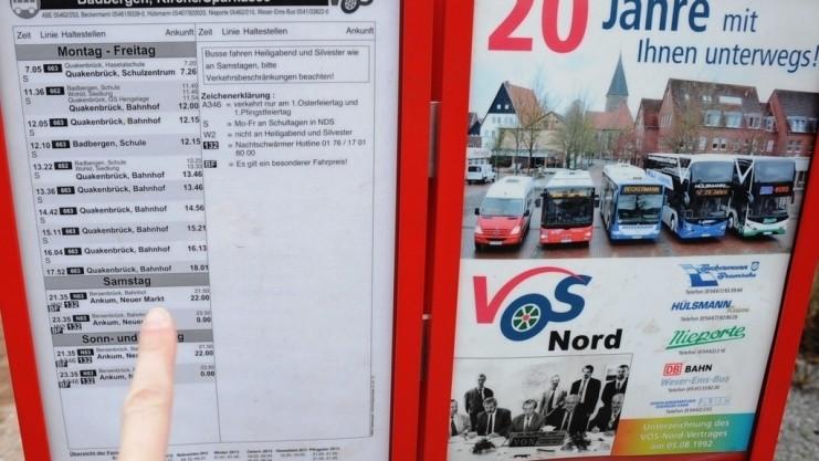 Interesse an Bürgerbus und Nachbarschaftshilfe in Badbergen