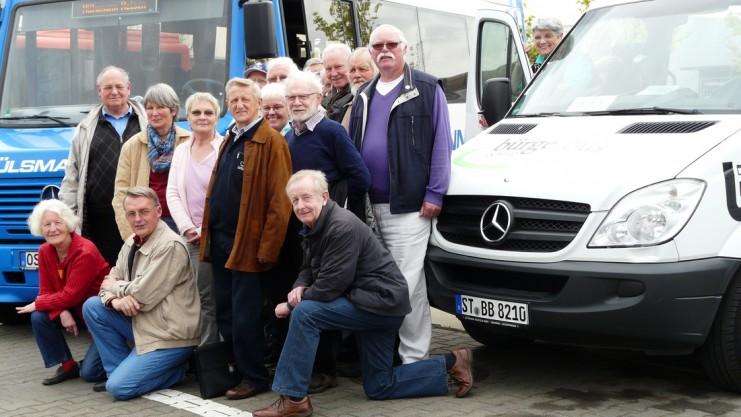 Badberger Bürgerbusverein auf Infotour in Ochtrup