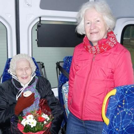 Bürgerbus befördert 500. Fahrgast